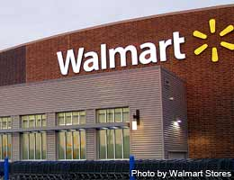 Bank at your local Wal-Mart