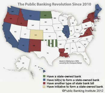 State-owned banks in the works