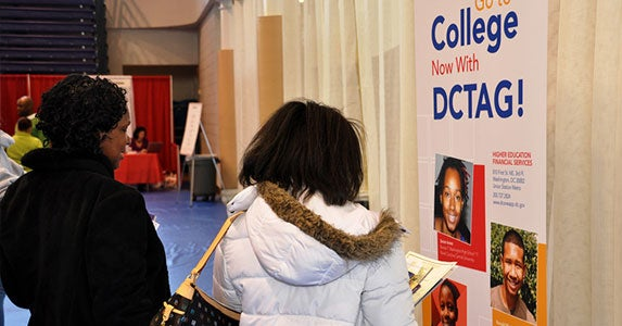 DC Tuition Assistance Grant | Photo courtesy of the Executive Office of Mayor Vincent C. Gray