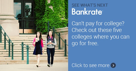 Can't pay for college? Check out these five colleges where you can go for free. © iStock