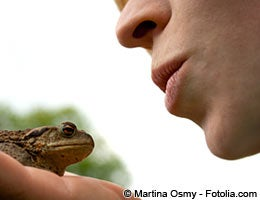 You may have to kiss a few frogs