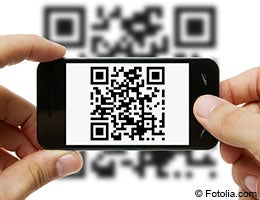 QR codes for the camera phone