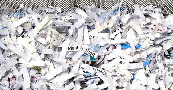 Shredding your documents © iStock