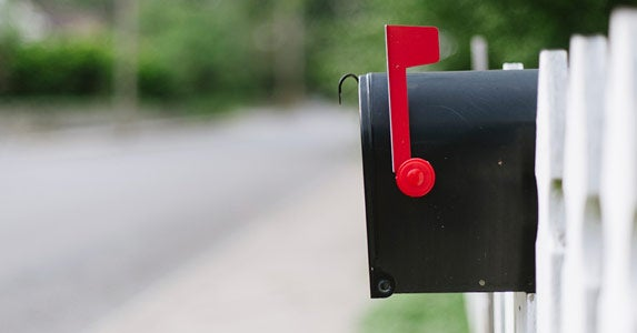 Protect your mail © iStock