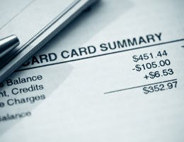 Errors on your credit card bill © David Evison/Shutterstock.com