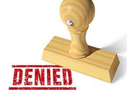 Insurance claim ... denied © Albund/Shutterstock.com