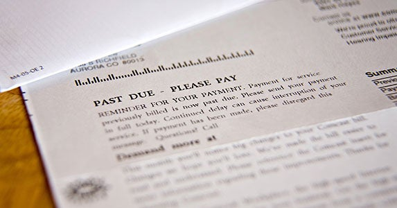 You'll be responsible for paying the loan © Mark Hayes/Shutterstock.com