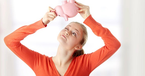 You have a savings rate of zero © Piotr Marcinski/Shutterstock.com