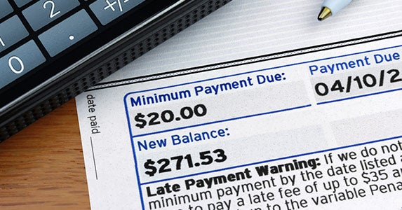 Paying late © iStock
