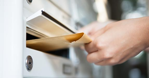 Send a letter to the reporting creditor © Andrey_Popov/Shutterstock.com