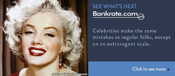 Celebrities make the same mistakes as regular folks, except on an extravagant scale.