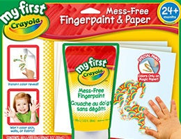 Finger-painting set