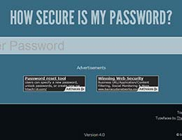Test your password