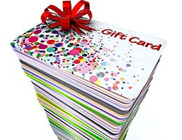 3. Go overboard with gift cards