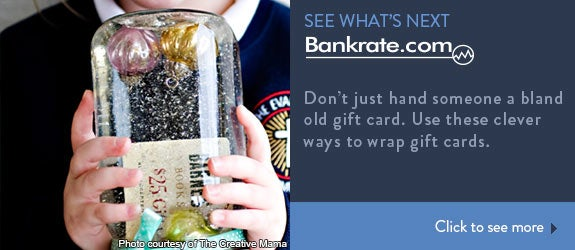 Don't just hand someone a bland old gift card. Use these clever ways to wrap gift cards.