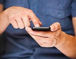 Set alerts to monitor your data plan limits © Kostenko Maxim/Shutterstock.com