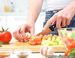 Avoid convenience foods, cook for yourself