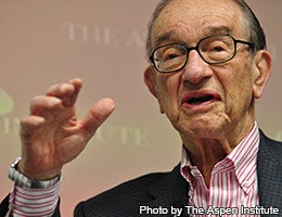 Alan Greenspan © Photo by The Aspen Institute