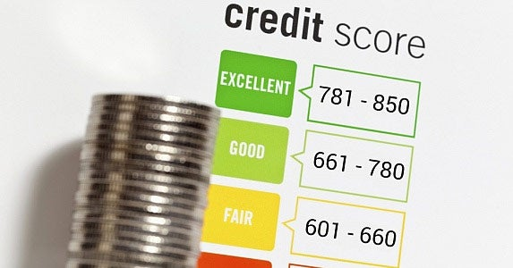 Check your credit score © iStock