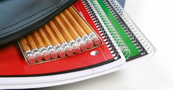 School supplies © iStock
