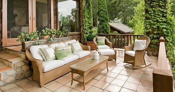 Patio furniture and accessories © iStock