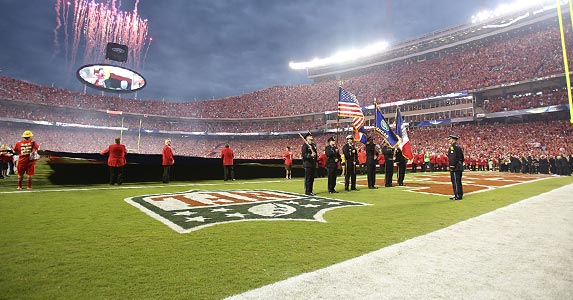 No. 4: Arrowhead Stadium © James Allison/Icon Sportswire/Corbis