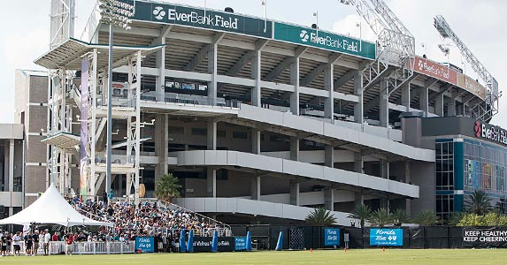 No. 1: EverBank Field © Gray Quetti/ZUMA Press/Corbis