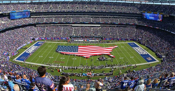 5 most expensive NFL stadiums © Rich Graessle/Icon Sportswire/Corbis