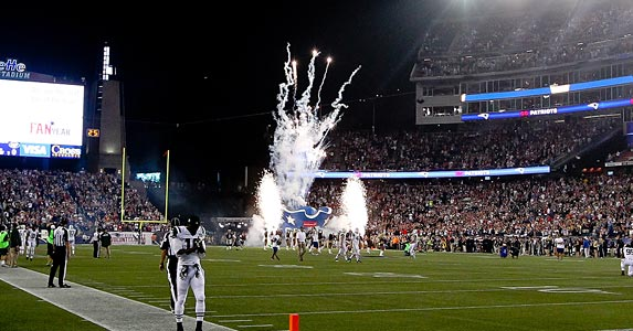 No. 4: Gillette Stadium © Rich Graessle/Icon SMI/Corbis