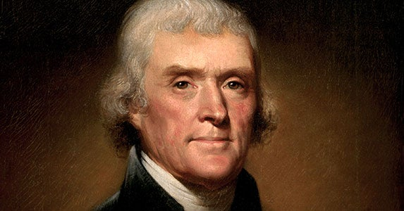 Thomas Jefferson (1801-1809) | Public domain