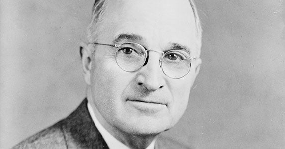 Harry Truman (1945-1953) | Public domain