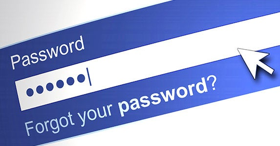 Lock down your password © iStock