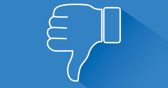 Thumbs down on Facebook | LEOcrafts/Getty Images