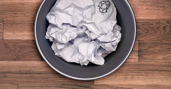 Discarded personal documents are full of information | Jonathan Kitchen/DigitalVision/Getty Images