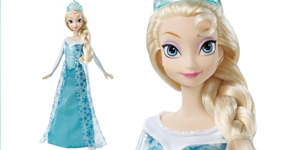 Disney 'Frozen' Sparkly Princess Elsa doll
