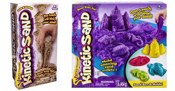Wacky-tivities Kinetic Sand and Molds