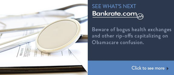 Beware of bogus health exchanges and other rip-offs capitalizing on Obamacare confusion © manaemedia/Shutterstock.com