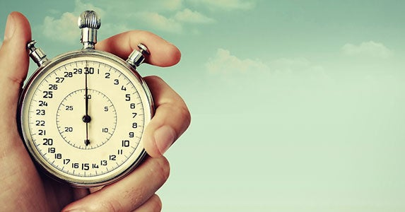Time in the market, not timing the market © Studio 37/Shutterstock.com