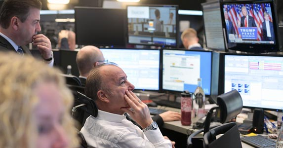 Surviving stock market volatility | Thomas Lohnes/Getty Images