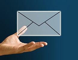 Add your LinkedIn profile to you signature line © pixbox77/Shutterstock.com