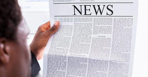 No. 2: Newspaper reporter © Andrey_Popov/Shutterstock.com