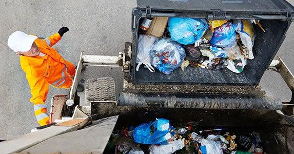 No. 8: Garbage collector © Dmitry Kalinovsky/Shutterstock.com
