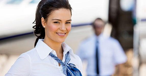 No. 7: Flight attendant © Tyler Olson/Shutterstock.com