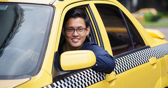 No. 4: Taxi driver © IxMaster/Shutterstock.com