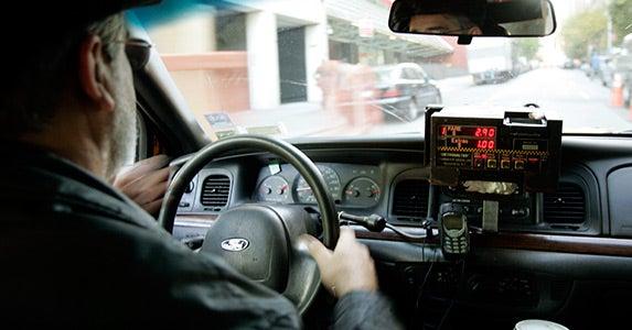 No. 8: Taxi driver