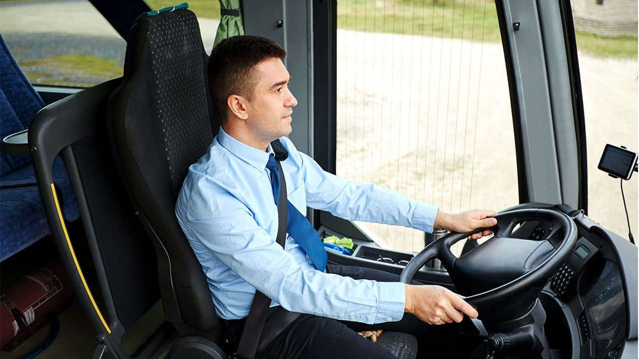 Bus driver | Syda Productions/Shutterstock.com