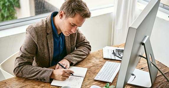 Put your sales plan in writing   marvent/Shutterstock.com