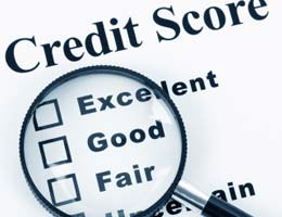 Credit score minimums