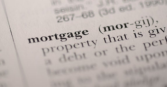 Mortgage acronyms defined © iStock