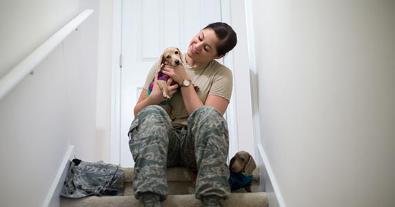 Military women and VA home loans | Sean Murphy/Getty Images